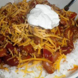 Saucy Beef Chili Recipe
