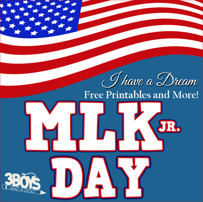I have a dream free printables