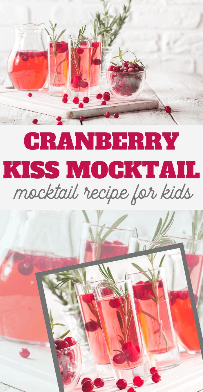 cranberry and orange juice mocktail