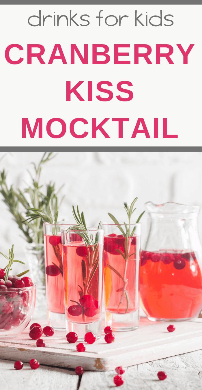 cranberry kiss mocktail recipe