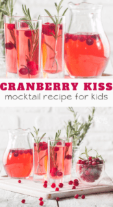 cranberry juice mocktail recipe