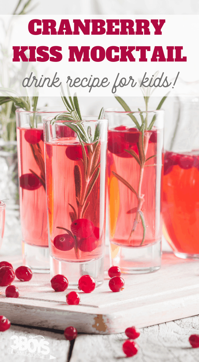 red kiss mocktail