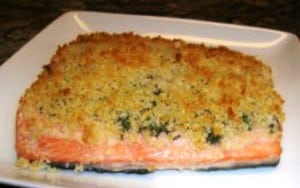 Breaded Salmon (Low Calorie) Recipe