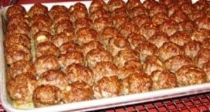 Menu Planning Monday: Bacon Cheddar Meatballs Recipe