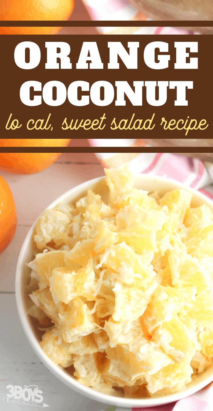 coconut salad recipe