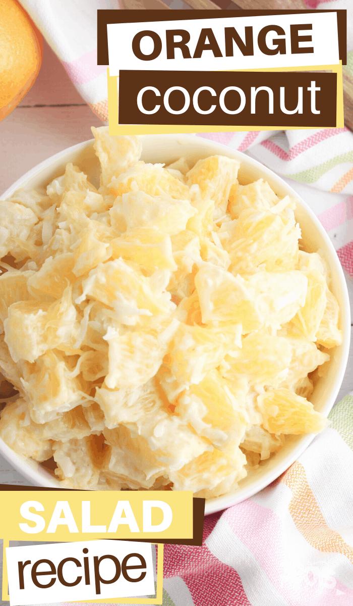orange coconut salad recipe