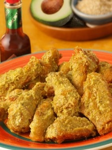 Avocado Chipotle Wings Recipe (Game Day Appetizer)