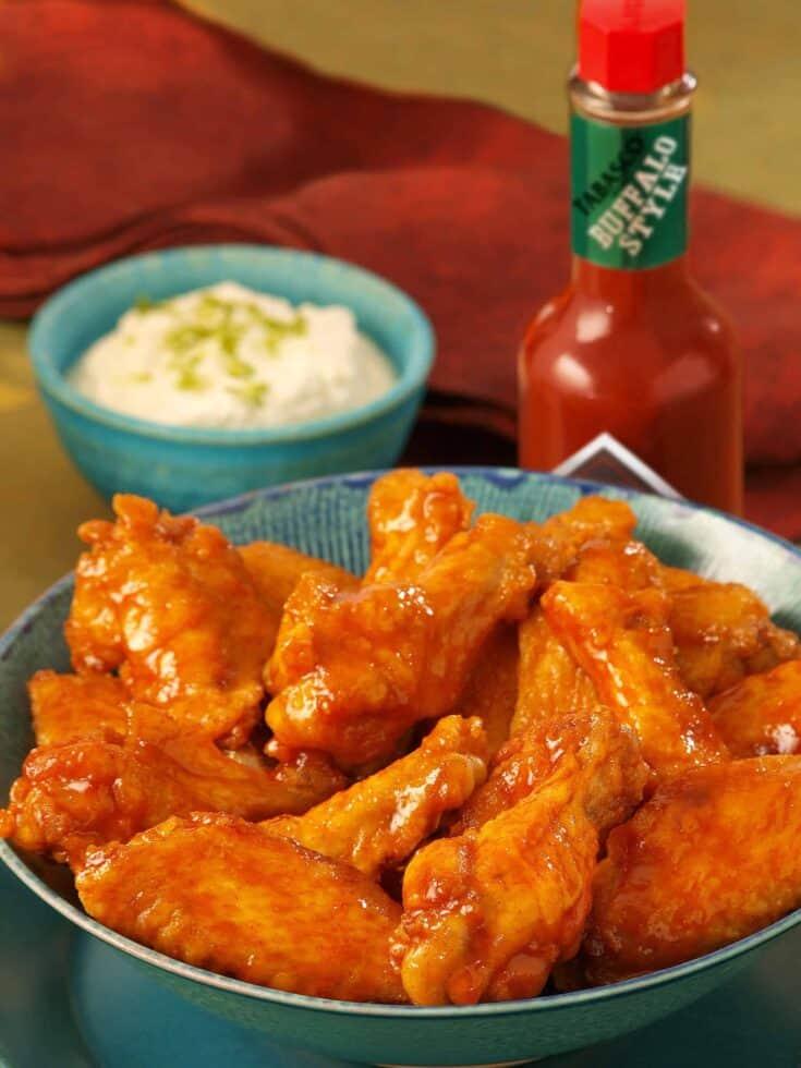 Creamy Buffalo Wings Recipe (Game Day Appetizers)
