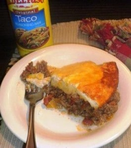 Impossible Taco Pie Recipe