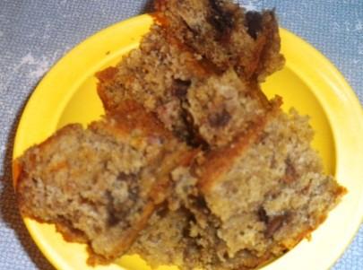 DSCN4729 300x222 Peanut Butter Chocolate Chip Banana Bread Recipe