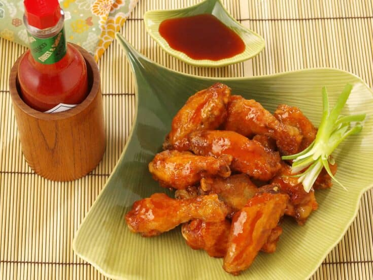East Asian Style Wings (Game Day Appetizer)