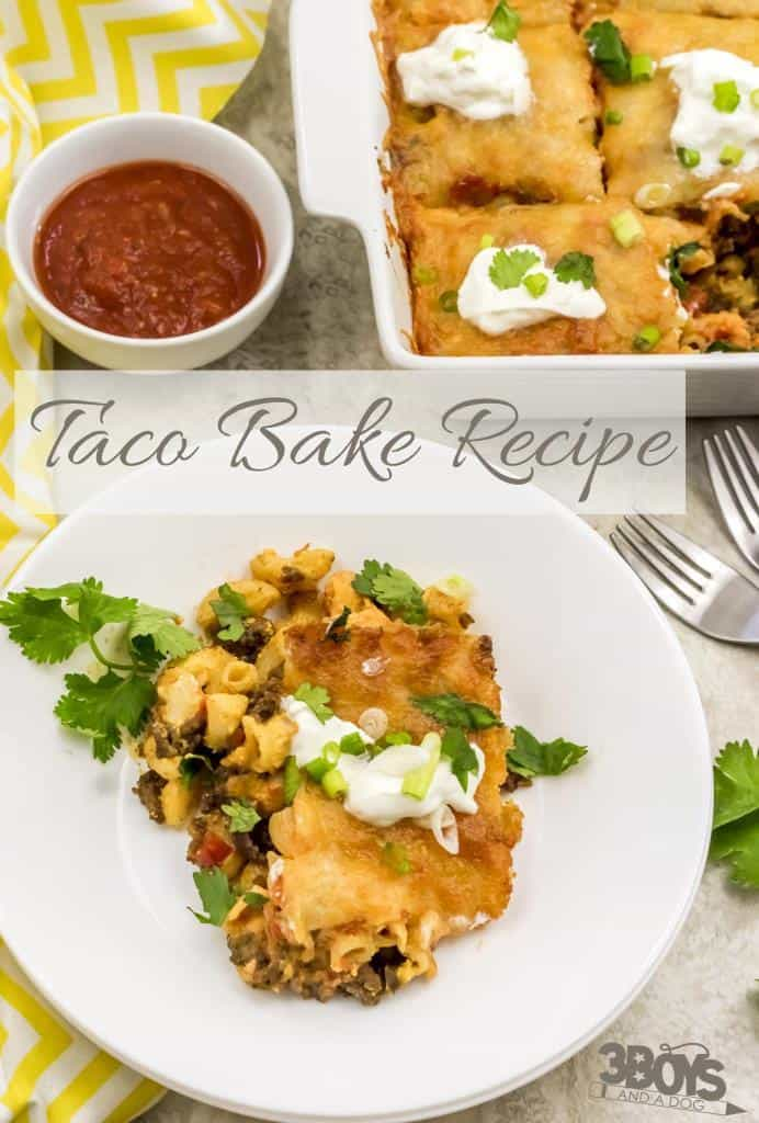 Easy Taco Bake Recipe