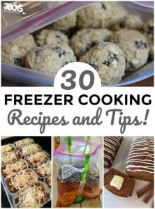 30 Freezer Cooking Tips and Recipes