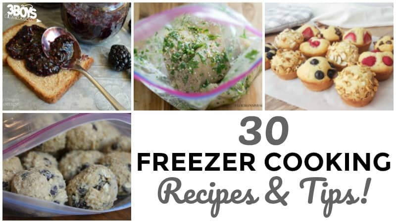 Freezer Cooking Tips and Recipes