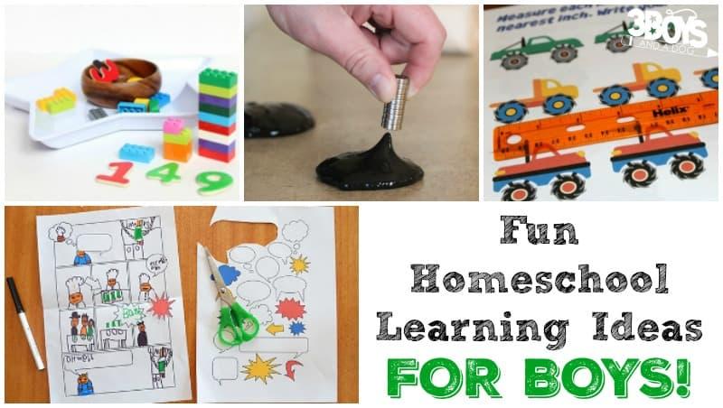 Fun Homeschool Learning Ideas for Boys