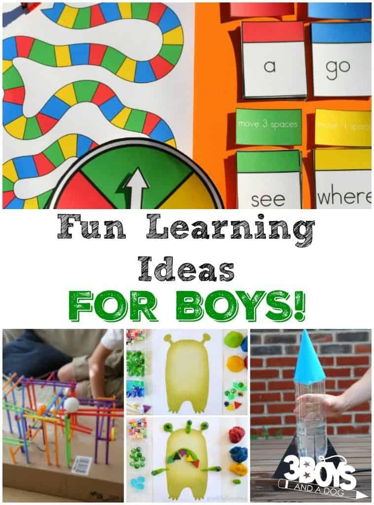 Fun Learning Ideas for Boys