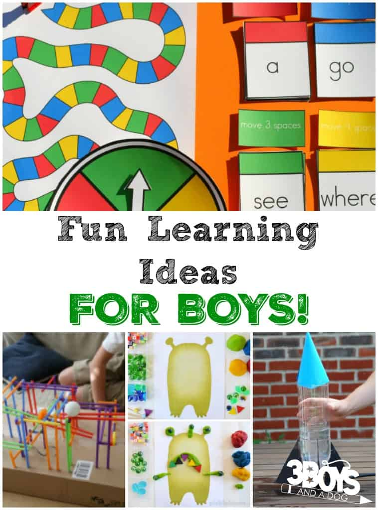 Fun Learning Ideas for Boys