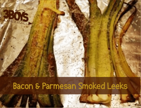low calorie - Hickory Smoked Bacon Parmesan Leeks weight friendly Recipe