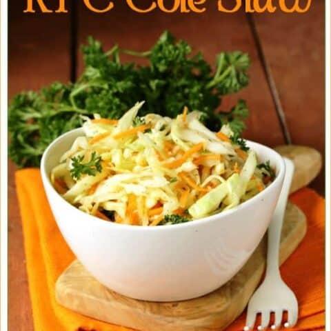 KFC Cole Slaw Copycat Recipe