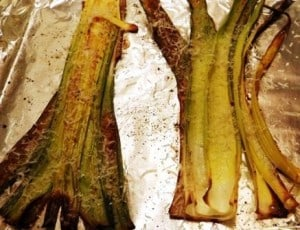 Hickory Smoked Bacon Parmesan Leeks Recipe
