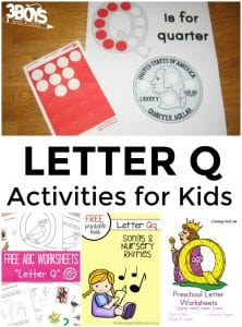 Letter Q Activities for Kids