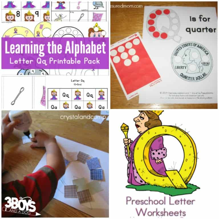 Letter Q Activities and Printables