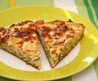 Spinach Quiche Vegetarian Recipe