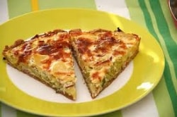 Spinach Quiche Vegetarian Recipe