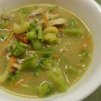 Skinny Chicken Broccoli Soup Recipe