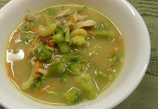 Skinny Chicken Broccoli Soup