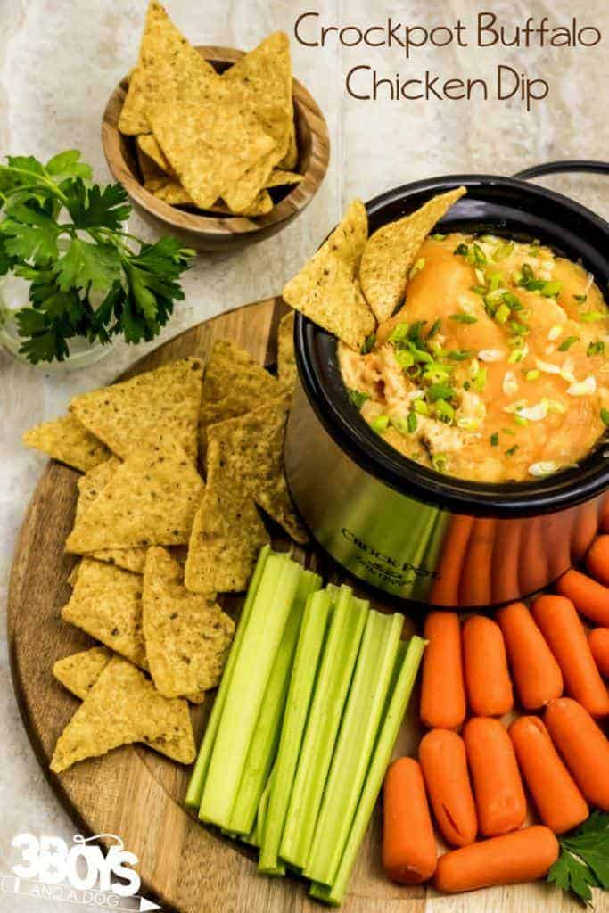 buffalo chicken dip recipe crock pot