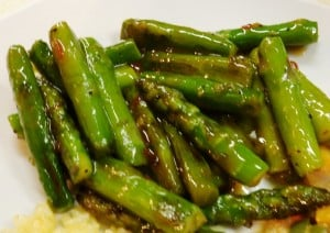 Asparagus Recipes: Thai Sweet Asparagus Recipe