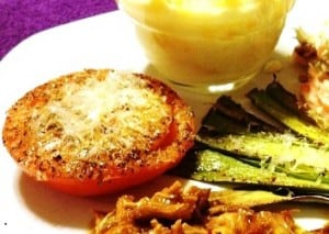 Baked Parmesan Tomatoes Recipe