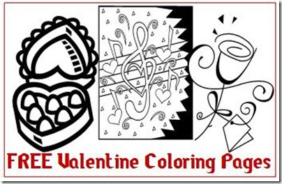 Free Valentine Coloring Pages – 3 Boys and a Dog