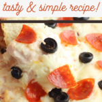 mozzarella and cream cheese mixture makes a great dip