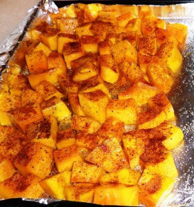 Roasted Butternut Squash (or Kabocha Squash) Low Calorie