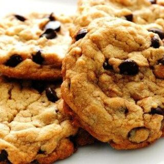 Low Calorie Chocolate Chip Cookies