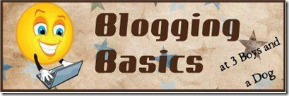 BloggingBasics