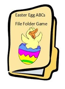 Easter Egg ABC FFG