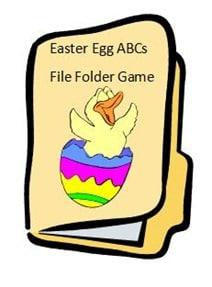Easter Egg ABC FFG
