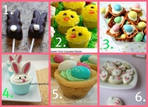 Easter Treats from Pinterest Pins