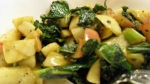 Easy Apple Kale Salad Recipe