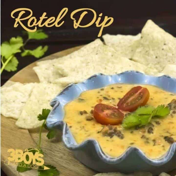 Rotel Dip with Hamburger Meat Recipe