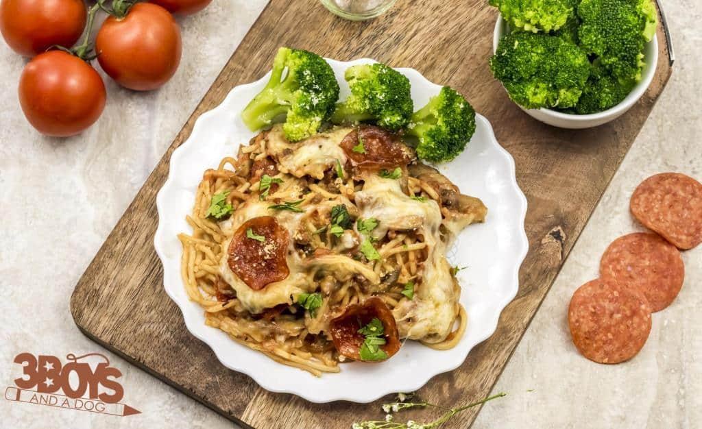Simple Slow Cooker Crockpot Pizza Recipe