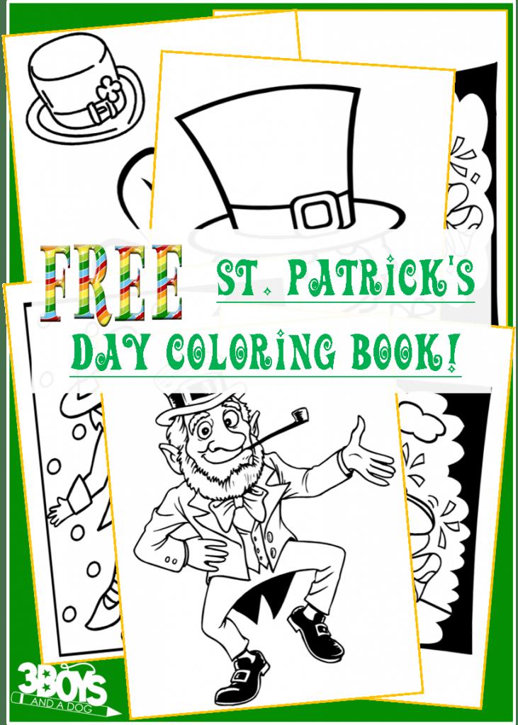 Saint Patricks Day Coloring Book