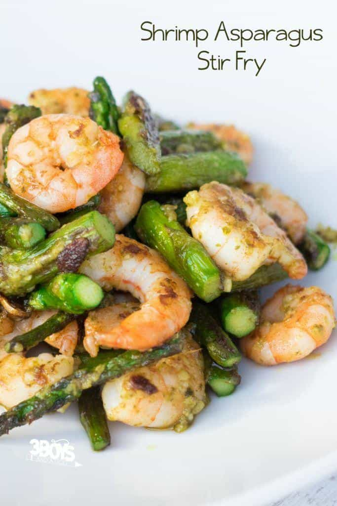stir fry shrimp and asparagus recipe