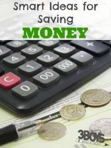 Smart Ideas for Saving Money