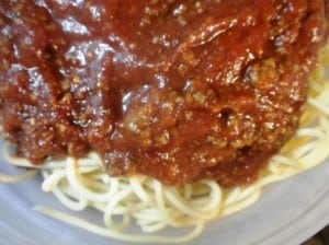 Kelli's Spaghetti Recipe