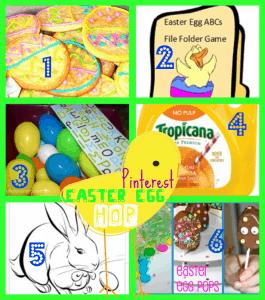 Pinterest Easter Egg Hop link party