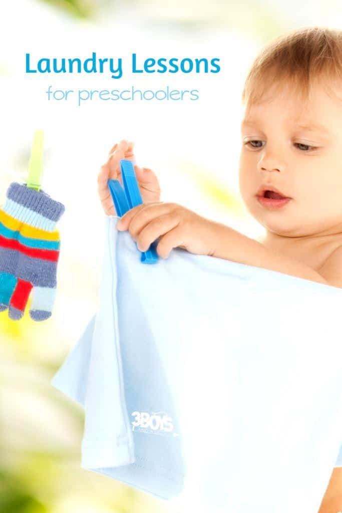 Fun Laundry Lessons for Preschool